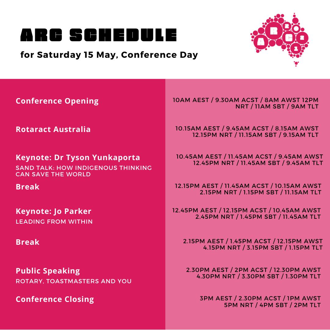 ARC Schedule
